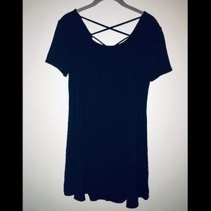 Forever 21 strappy back T-shirt dress